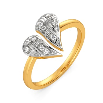 A Tartan Romance Diamond Rings
