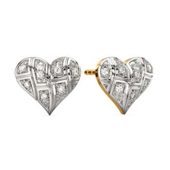 A Tartan Romance Diamond Earrings