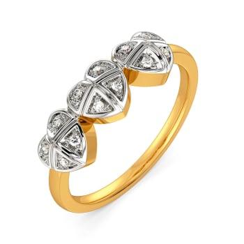 Gingham Desires Diamond Rings