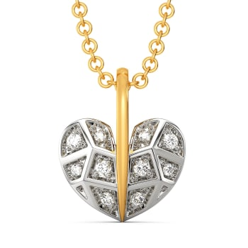 Like A Plaid Diamond Pendants