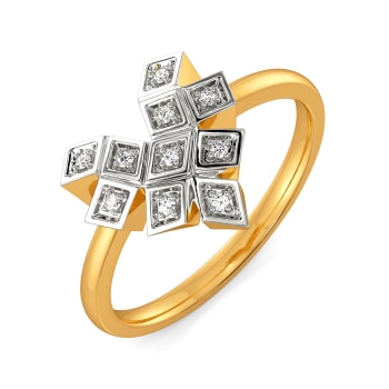 Gingham Care Diamond Rings
