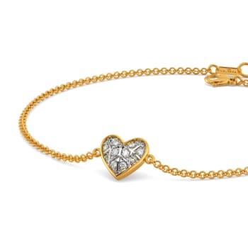 Tartan Heart Diamond Bracelets
