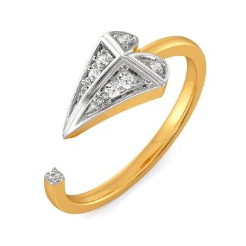 Crush O Check Diamond Rings