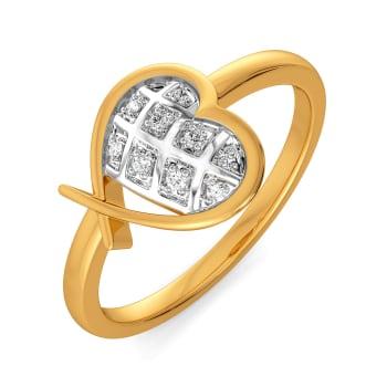 Peppy Heart Diamond Rings