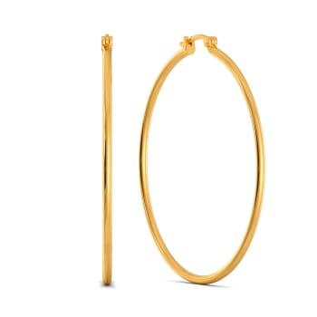 Prime Time Gold Earrings