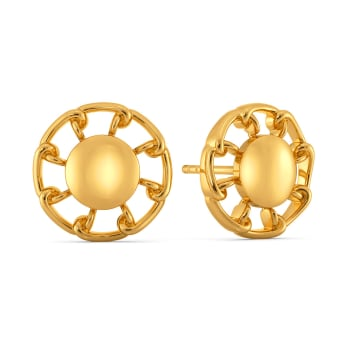 Mission Mend Gold Earrings