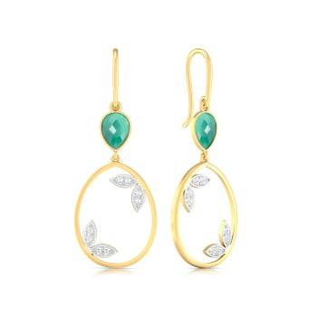 Forest Vibes Diamond Earrings