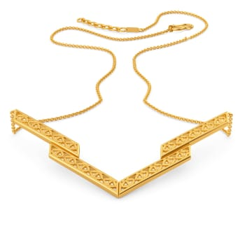 Blossom Up Gold Necklaces