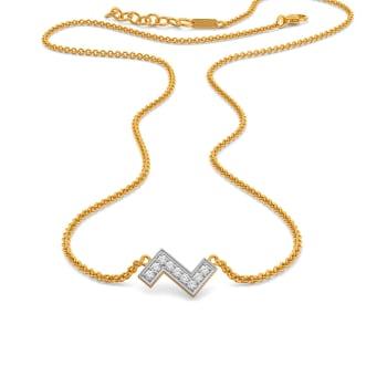 The Zee Key Diamond Necklaces