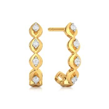 Speck o tacle Diamond Earrings
