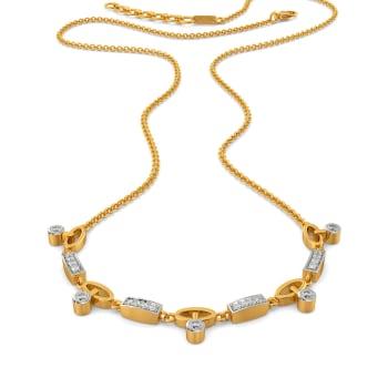 Linkin Arcs Diamond Necklaces