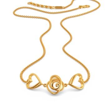 Fierce Romance Gold Necklaces