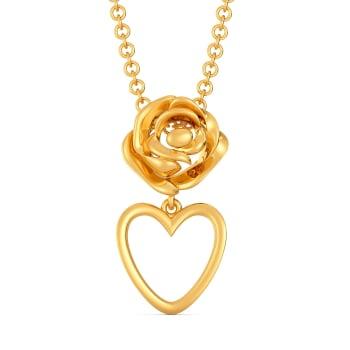 Rebel Rose Gold Pendants