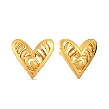 Venus Venge Gold Earrings