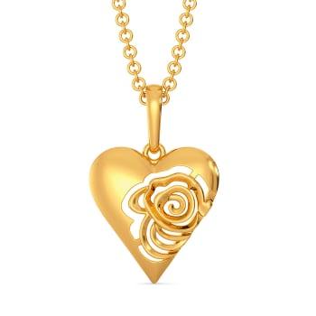 Love Bomb Gold Pendants