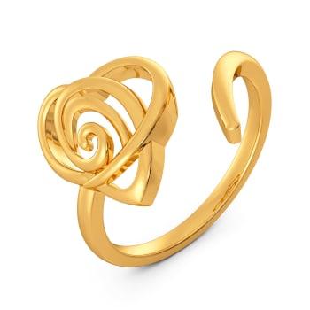 Lovelorn Gold Rings