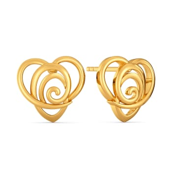 Lovelorn Gold Earrings
