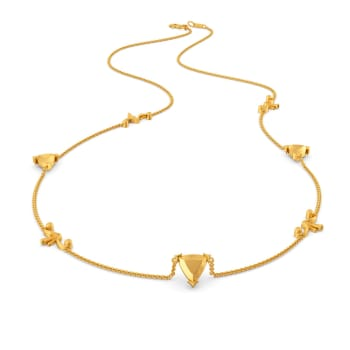 Chic Childhood Gold Necklaces