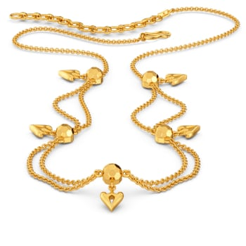 Childhood Cheer Gold Necklaces
