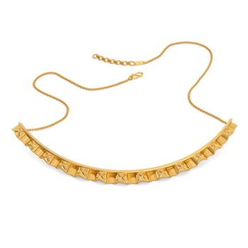 Frill Fantasy Gold Necklaces