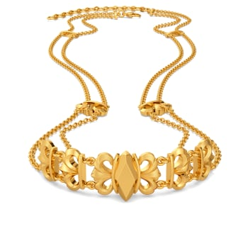 Quirk O Doll Gold Necklaces