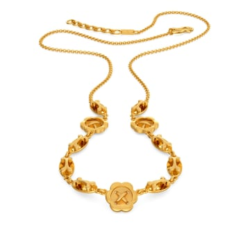 Victorian Nets Gold Necklaces