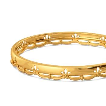 Glam Poise Gold Bangles