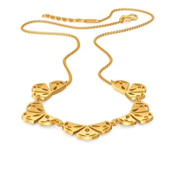 Lacy Stacy Gold Necklaces