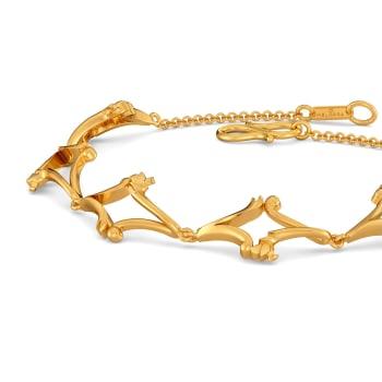 Vine Versions Gold Bracelets