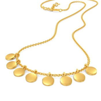 Sparkle Startle Gold Necklaces