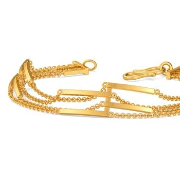 Fringe Fallout Gold Bracelets