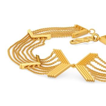 Fringe Fantastic Gold Bracelets