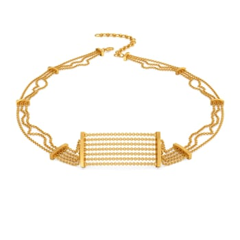 Fringe It Up Gold Necklaces
