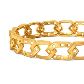 Fiery Fashion Gold Bangles