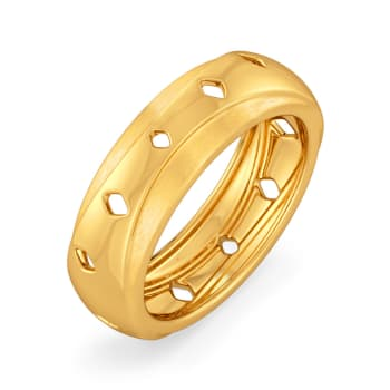 Vintage Volt Gold Rings