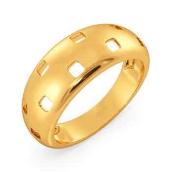 Daring Mutiny Gold Rings