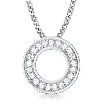 Fine Line Diamond Pendants