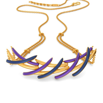 Feather Flight Gold Necklaces