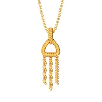 Fringe Refresh Gold Pendants