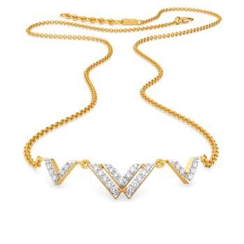Dazzling Dawn Diamond Necklaces