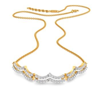 Bourgeois Twist Diamond Necklaces