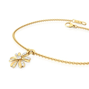 Peek-a-Bloom Diamond Bracelets
