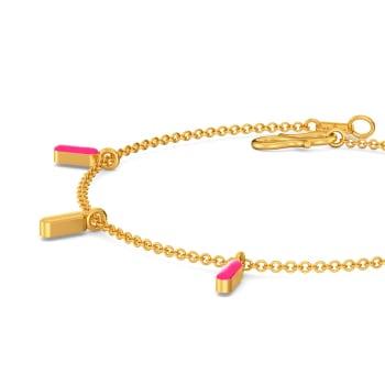 Pink Parade Gold Bracelets