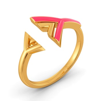 Yours Truly Gold Rings
