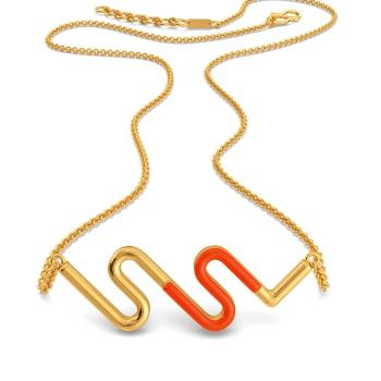 Sailing Sun Gold Necklaces