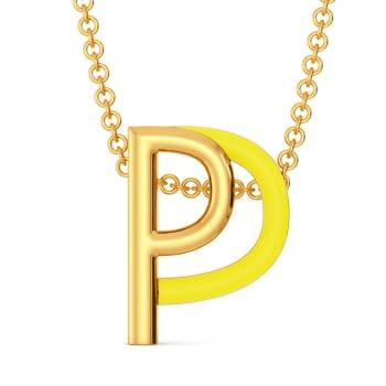 Peek A Sneak Gold Pendants