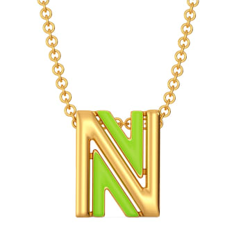 Native Neon Gold Pendants