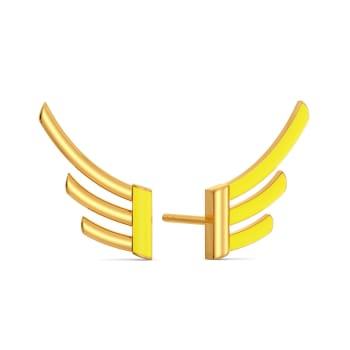 Early Edits Gold Earrings
