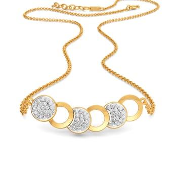 Pings N Pongs Diamond Necklaces