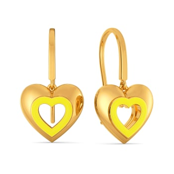 Love Brunch Gold Earrings